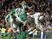 Góc chiến thuật Real Madrid - Betis:  Đặc sản  nước Anh