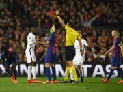 Cả  trăm nghìn HLV  đòi Barca - PSG đá lại: Trọng tài bị phạt nặng