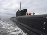 Tàu ngầm hạt nhân Nga phóng ngư lôi vào nhau ở Bắc Cực
