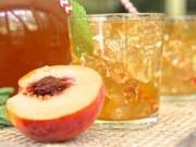 """Ẩm thực - Cách pha trà đào ngọt lịm khiến """"vạn người mê"""""""