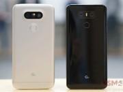 """So sánh LG G6 với  """" đàn em """"  LG G5"""