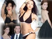 """Làm đẹp - Đường cong sexy của 3 cô bồ """"tài tử sát gái số 1 TVB"""""""