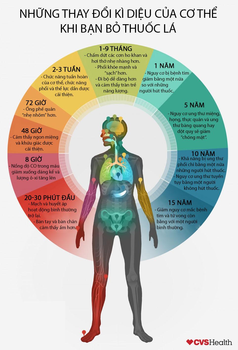 Những thay đổi kì diệu của cơ thể khi bạn bỏ thuốc lá - 1