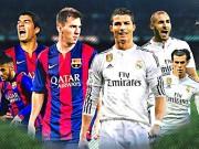 Bóng đá - Barca, Real chú ý: Siêu kinh điển diễn ra 3 lần/tháng