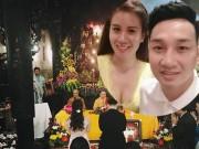 Phim - MC Thành Trung và vợ 9x bất ngờ cưới ở chùa
