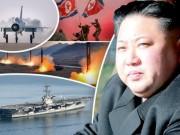 Triều Tiên dọa giáng đòn  tàn nhẫn  vào tàu sân bay Mỹ