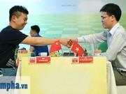 Quang Liêm đua đến cùng với 3 cao thủ cờ vua Trung Quốc