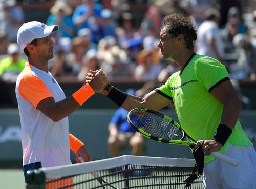Nadal – Verdasco: Trừng phạt sai lầm (V3 Indian Wells)