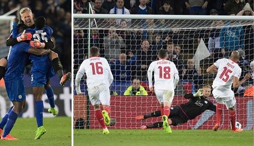 "Leicester có ""thánh"" Schmeichel: Sợ gì Real-Ronaldo - 1"