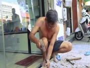 """Tin tức trong ngày - TP.HCM """"dẹp"""" vỉa hè: Thợ xây, thợ hàn được mùa"""