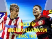 Chi tiết Atletico - Leverkusen: Bỏ lỡ 4 lần liên tiếp (KT)