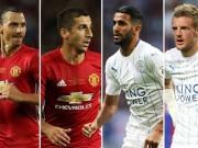 """Bóng đá - Đua dự cúp C1: MU, Leicester """"đe dọa"""" Arsenal, Liverpool"""