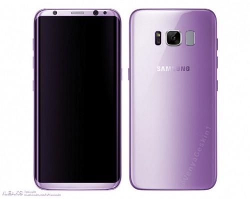Samsung Galaxy S8 sẽ có phiên bản màu tím Amethyst - 1