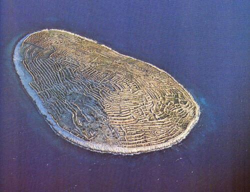 Độc đáo hòn đảo hình vân tay khổng lồ giữa biển - 6