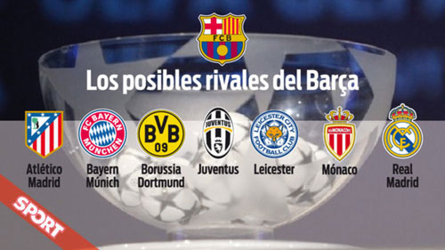 "Bốc thăm cúp C1: El Clasico hay ""lời nguyền"" ám Real - 2"