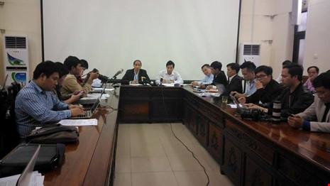 Nóng: Họp báo vụ Chủ tịch tỉnh Bắc Ninh bị đe dọa - 1