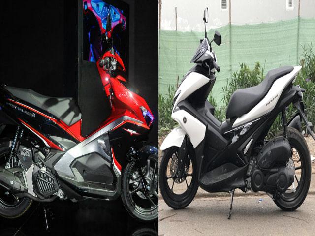 """Yamaha NVX 125 """"ám ảnh"""" Honda Air Blade 125 ra sao?"""