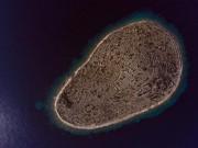 Độc đáo hòn đảo hình vân tay khổng lồ giữa biển