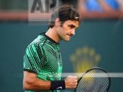 Thể thao - Federer nâng tầm trái 1 tay, Nadal tâm phục khẩu phục