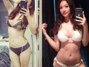 """Thời trang - """"Tình cũ"""" Lương Bằng Quang sexy vô bờ với nội y buộc dây"""