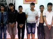 """An ninh Xã hội - Hàng chục thanh niên mang dao, súng đi """"huyết chiến"""""""
