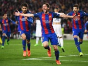 Messi dẫn dắt hàng công Dream Team vòng 1/8 cup C1