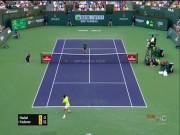 Thể thao - Nadal bung vợt tuyệt hảo, Federer phải vỗ tay