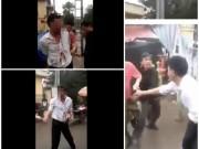Người đàn ông bị đánh giữa chợ vì nghi bắt cóc trẻ em
