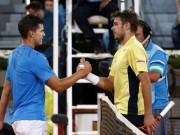 Thể thao - Wawrinka - Thiem: So kè trái 1 tay nảy lửa (Tứ kết Indian Wells)