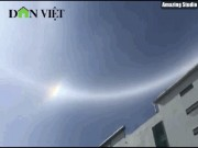 Chuyên gia lý giải quầng sáng lạ  ôm  trọn mặt trời ở Gia Lai
