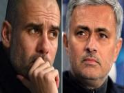 """Bóng đá - MU vượt mặt Man City: Pep """"chào thua"""" Mourinho"""