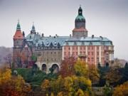 Những tòa lâu đài đẹp như cổ tích tại Ba Lan