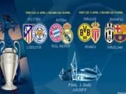 Bóng đá - Bốc thăm tứ kết cúp C1: Tỉ lệ Real vô địch tụt thê thảm