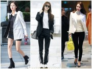 """Thời trang - Chiếc áo """"thần thánh"""" cô gái Hàn nào cũng thích"""