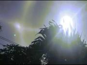 Clip: Xuất hiện quầng sáng kỳ lạ quanh mặt trời ở Gia Lai