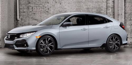 Honda Civic Hatchback 2017 có giá 764 triệu đồng