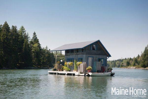 Nhà nổi 22m2 giữa hồ đẹp như tranh vẽ - 2