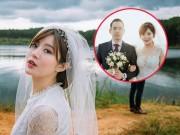 Bạn trẻ - Cuộc sống - Hot girl Tú Linh- fan ruột MU xinh đẹp như công chúa trong bộ ảnh cưới
