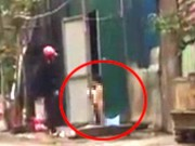 Tin tức trong ngày - Mẹ bắt con gái trần truồng đứng giữa trời mưa rét gây phẫn nộ