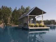 Tài chính - Bất động sản - Nhà nổi 22m2 giữa hồ đẹp như tranh vẽ