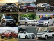 """Tin tức ô tô - 10 mẫu ô tô """"ế"""" nhất Việt Nam tháng 2/2017"""
