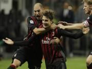 """AC Milan - Genoa: Gục ngã trước  """" nhát kiếm """"  chí tử"""