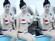 """Thời trang - Trương Quỳnh Anh cứ đi biển là """"dìm hàng"""" gái trẻ"""