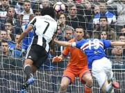 Sampdoria - Juventus:  Nổ tung  pha đánh đầu phủ đầu