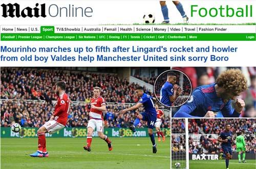 Trăm triệu fan MU mừng rơi nước mắt: Báo Anh khen Mourinho