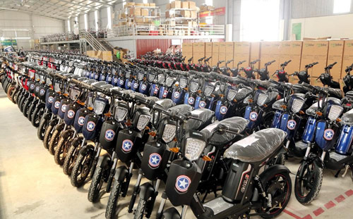 Lần đầu tiên Việt Nam có thương hiệu Việt sản xuất xe gắn động cơ hai bánh - ảnh 2