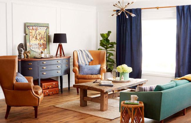15 phòng khách đẹp mê ly ai cũng muốn là của nhà mình - 2