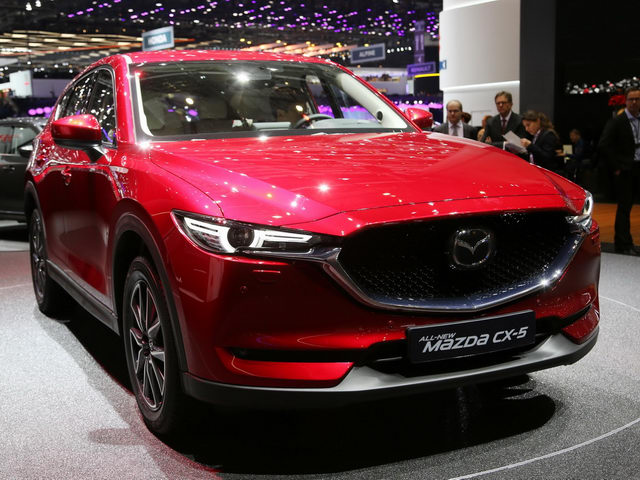 Mazda CX-5 2017 đến châu Âu và Mỹ với giá từ 547 triệu đồng - ảnh 1