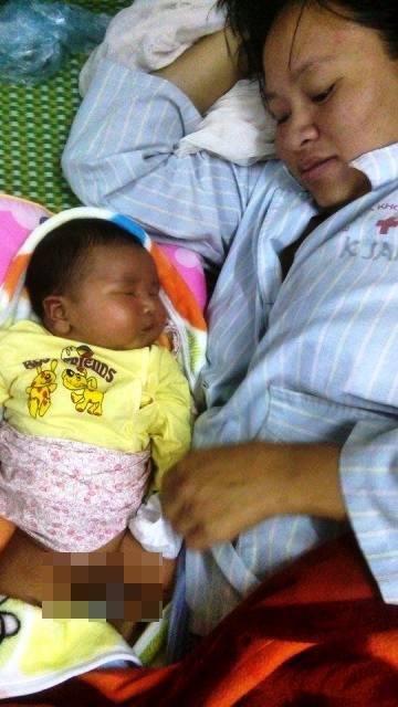Hy hữu: Bé sơ sinh nặng 6,1kg chào đời tại Nghệ An - 1