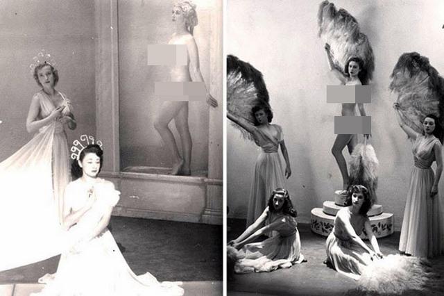 Lần đầu công bố ảnh nghệ sĩ múa khỏa thân năm 1950 ở Anh - ảnh 2